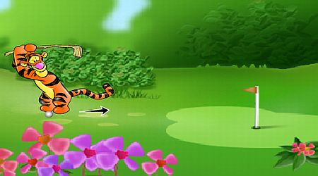 Game's screenshot - 100 Acre Wood Golf