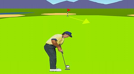 Game's screenshot - 3D Championship Golf