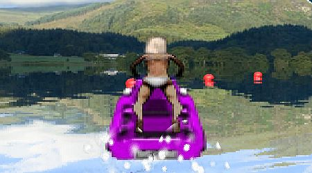 Game's screenshot - 3D Jetski Racing