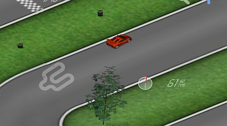 Game's screenshot - 3D Racing