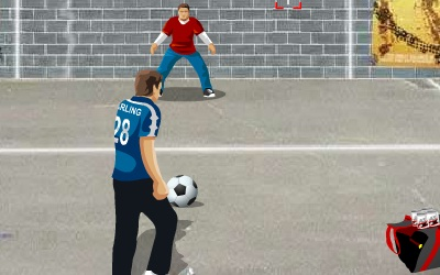 Game's screenshot - Against the Wall