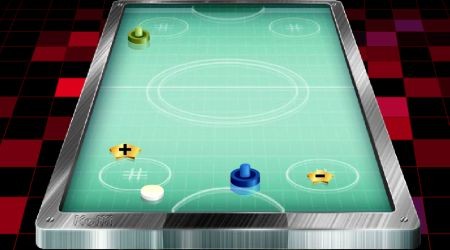 Game's screenshot - Air Hockey By Koffi
