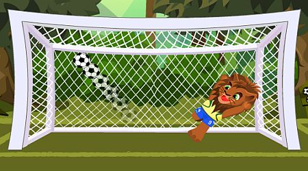Game's screenshot - Animal Football 2010