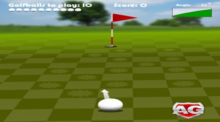 Game's screenshot - Asha Golf