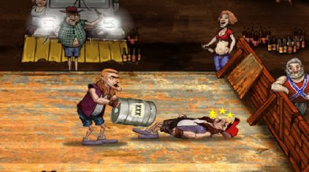 Game's screenshot - Backyard Boxing