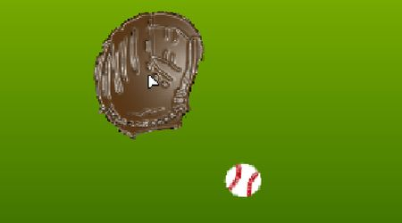 Game's screenshot - Baseball Training Mitt