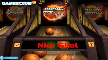 Game's screenshot - Basketball Championship