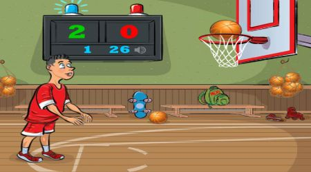 Game's screenshot - Basketball Exam