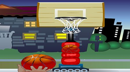 Game's screenshot - Basketball Game