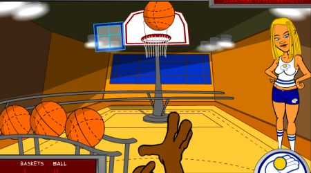 Game's screenshot - Basketball Rally