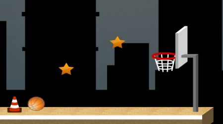 Game's screenshot - Basket Jump