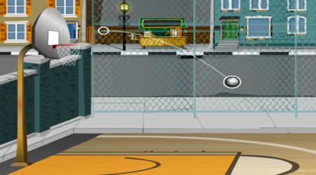 Game's screenshot - Basket Shots