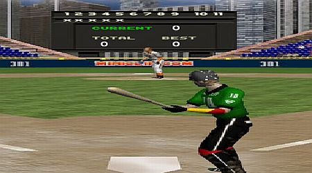 Game's screenshot - Batting Champ