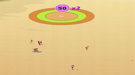 Game's screenshot - Beach Baseball
