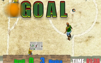 Game's screenshot - Beach Soccer