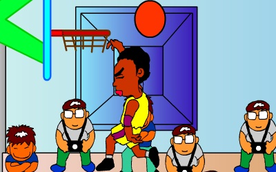 Game's screenshot - Best Dunk Game