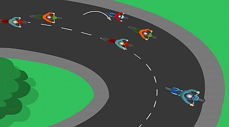 Game's screenshot - Bike Racer