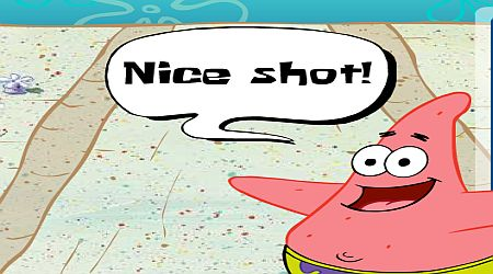 Game's screenshot - Bikini Bottom Bowling