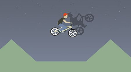 Game's screenshot - BMX Ghost