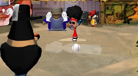 Game's screenshot - Bobblehead Baseball