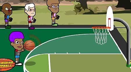 Game's screenshot - Bobblehead Basketball