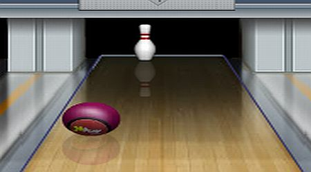 Game's screenshot - Bowling