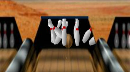 Game's screenshot - Bowling 300