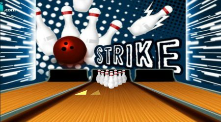 Game's screenshot - Bowling Alley