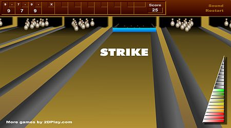 Game's screenshot - Bowling Master