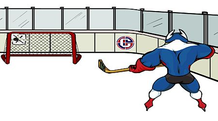 Game's screenshot - Captaine Cage Hockey