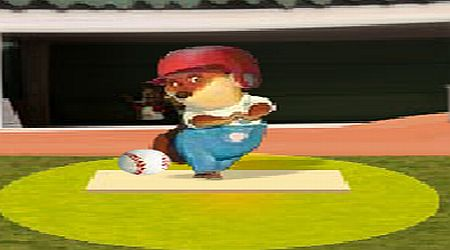 Game's screenshot - Chicken Little Batting Practice