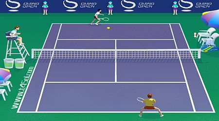 Game's screenshot - China Open Tennis