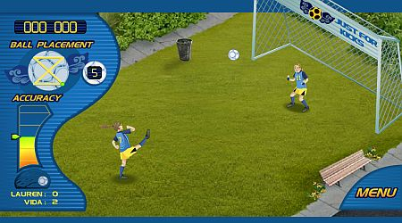 Game's screenshot - City Soccer Shootout