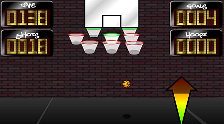 Game's screenshot - Crazy Hoopz