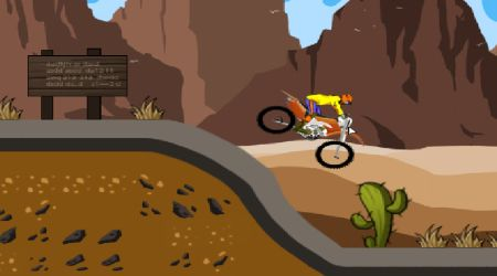 Game's screenshot - Dirty Bike Races