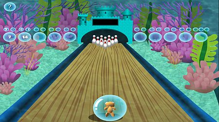 Game's screenshot - Fish Bowling