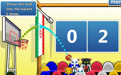 Game's screenshot - Flash World Basketball Championship