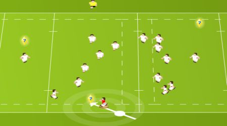 Game's screenshot - Flick N Kick 2