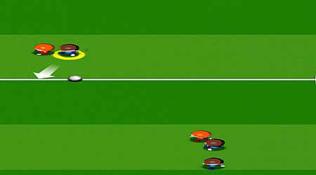 Game's screenshot - Football Star