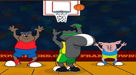 Game's screenshot - Frank Town Hoops