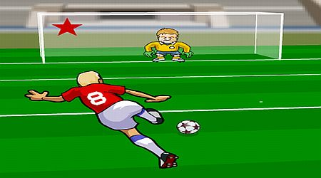 Game's screenshot - Free Kick Through The Ages
