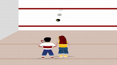 Game's screenshot - Freestyle Squash