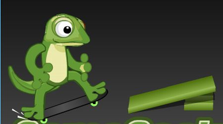 Game's screenshot - Game Gecko Skateboarding