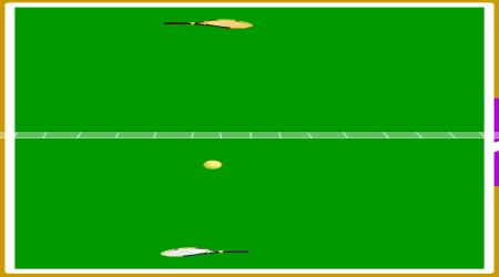 Game's screenshot - Gamezone Tennis