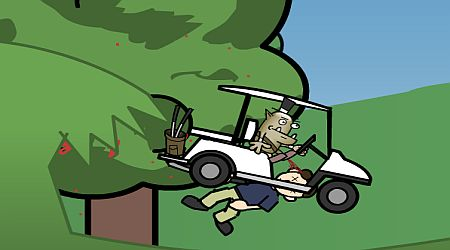 Game's screenshot - Gavin The Pro Golf Goblin