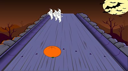 Game's screenshot - Ghost Bowling