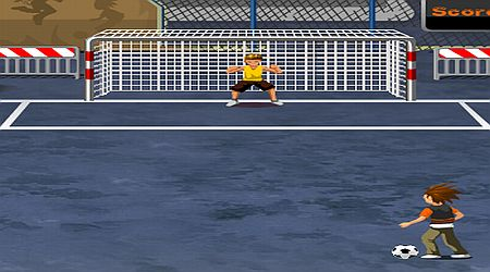 Game's screenshot - Goal Street