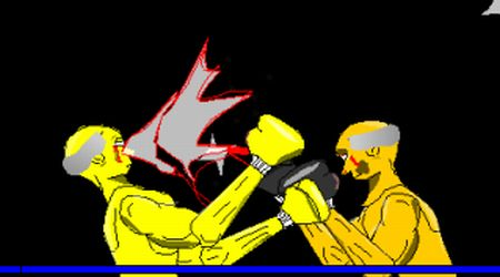 Game's screenshot - Golden Glove Boxing