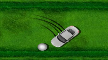 Game's screenshot - Golf Drifter