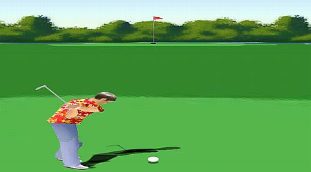 Game's screenshot - Golf Master 3D